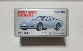 🚚 Tomica Limited Vintage Neo efini RX-7 Type R (Silver)