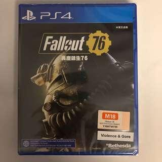 WTS- PS4 Fallout 76