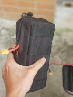 Battery / Acessories Pouch Bag