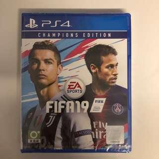 WTS- PS4 Fifa 19 Champions Edition