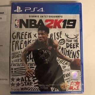 WTS- PS4 NBA2K19