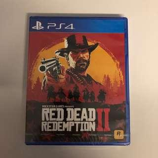 WTS- PS4 Red Dead Redemption 2