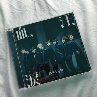 OFFICIAL BTS Blood, Sweat & Tears Japanese CD & DVD