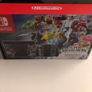 WTS- Super Smash Bros Ultimate Limited Edition Nintendo Switch (Without Game)