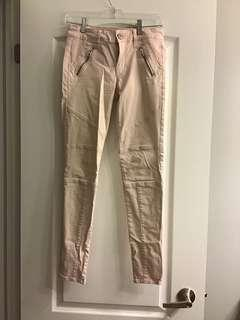 Light pink pants
