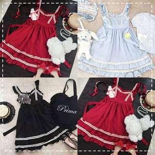 Brand New Lolita Dress Souffle Doll Jumper skirt Jsk