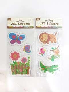 Jel Animal Stickers