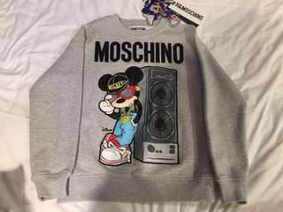 H&M x Moschino Grey Sweater (XS)