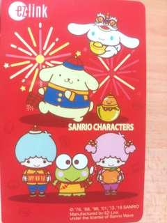 (LIMITED EDITION) CNY Sanrio Characters Ezlink Card
