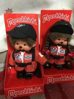 Monchhichi公仔蒙奇奇 宇航員帶底盒,全新無瑕 正版正貨正品