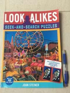 Look Alikes Seek-and-search Puzzles