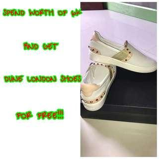 GET FREE DUNE LONDON SHOES 💯✔Authentic