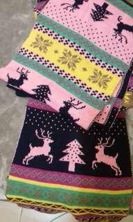🚚 聖誕圍巾