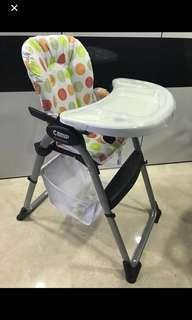 Baby High Chair / Bonbijou Camp / Feeding Chair / Infant / Toddler Nurisng