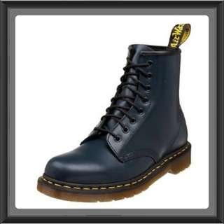 Dr Martens Boots 1460 Navy 8-hole