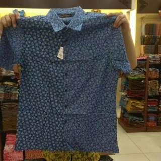 Kemeja Batik SlimFit Batik Keris Size L