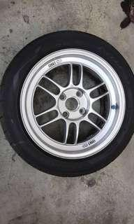 Enkei RPF1 original japan with AD08 tyre