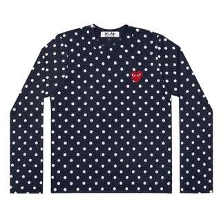 CDG Play Polka Dot T-Shirt