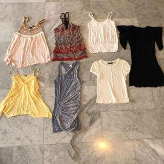 Moda, Zara, etc Tops (Used)