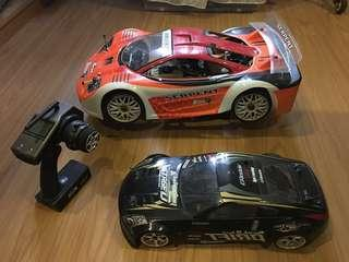 1/8 Serpent cobra GT nitro touring car super fast!