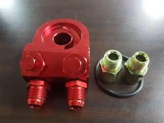 Adepter oil Cooler, sensor oil press&Sensor Oil temperature.