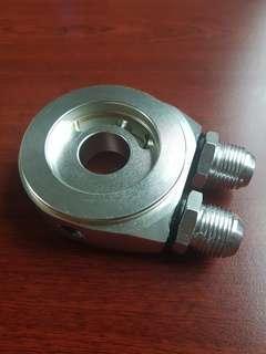 Adapter oil cooler, sensor gauge oil press&sensor gauge oil temperatures(3 in 1)