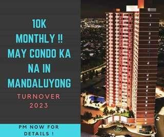 PRESELLING CONDO IN MANDALUYONG NEAR BGC MAKATI AND EDSA NO DP NO LUMPSUM
