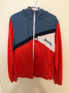 Bench zip up sweater size large