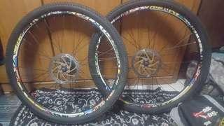 Urgent sales of used bicycle parts