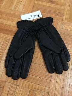 Brand New Frank and Oak Leather Gloves Size Medium/Large