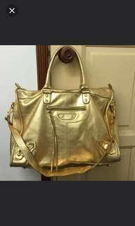 Balenciaga inspired shoulder bag
