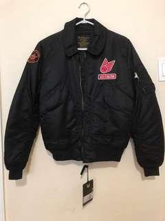 Alpha Industries x Deus Ex Machina Bomber Jacket Size Medium