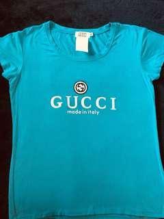 Gucci Teal Aqua T-Shirt