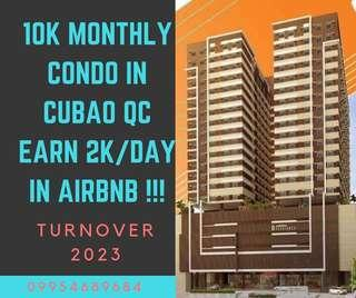 EARN 2k per day in Airbnb CONDO IN CUBAO QUEZON CITY