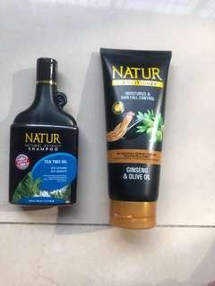 Shampoo + conditioner