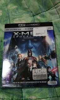 X-men Apocalypse 4K/Blu-ray/Digital code