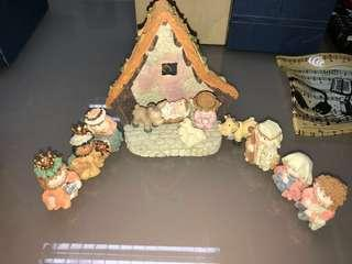 🔮飾品系列七💎耶穌誕生擺設 Jesus Christ📦連包裝紙盒