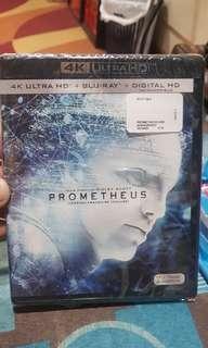 Prometheus 4K/Blu-ray/Digital code