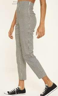 Luck and Trouble gingham pants
