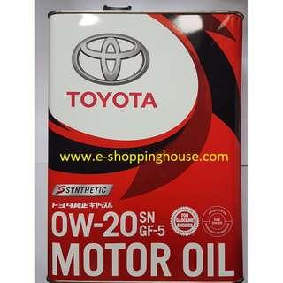 BN Toyota 0w-20 Synthetic Engine Oil