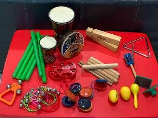 [For rent] Kids Percussion Kit