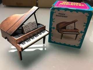 🔮飾品系列三 💎Grand Piano Pencil Sharpener 🎹鋼琴鉛筆刨✏️ 📦連包裝紙盒