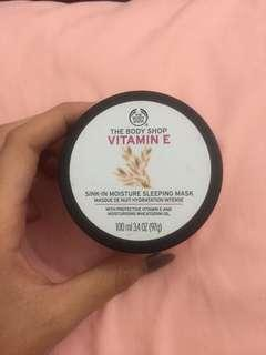 THE BODY SHOP VITAMIN E MASK