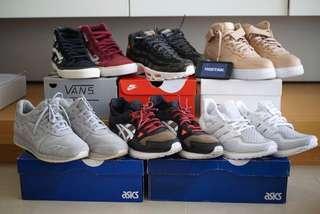 Sneakers all US 11 to US 12