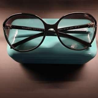 4ebbe8c0df3 Tiffany   Co. TF 4058-B Black Lense Sunglasses  Authentic
