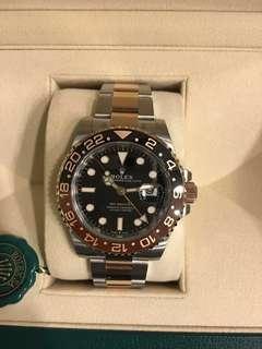 Rolex GMT MASTER2 - 126711CHNR RootBeer