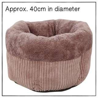 """""""Coffee"""" Super Soft Muffin Cat Cradle Bed"""