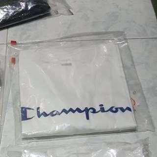 Champion white t shirt