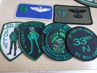 USAF patch PJ