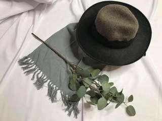 🚚 全新正韓 羊毛拼接紳士帽